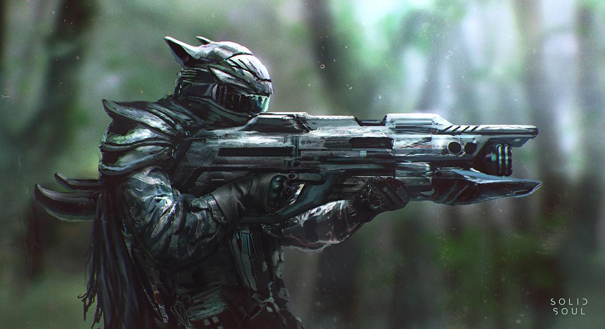 Soldier Sketch 002