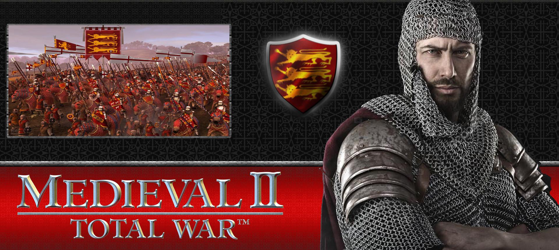 ArtStation - Medieval 2: Total War - England banner, Embuprod _