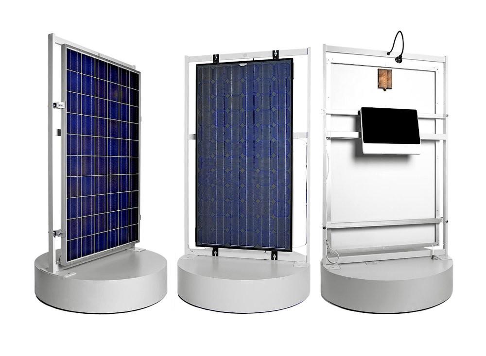 Marion wood solar panels