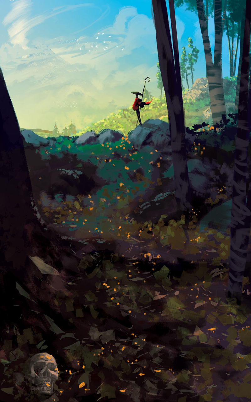 Anato finnstark something in the woods speedpaint 2 h by anatofinnstark dcwvg4f fullview