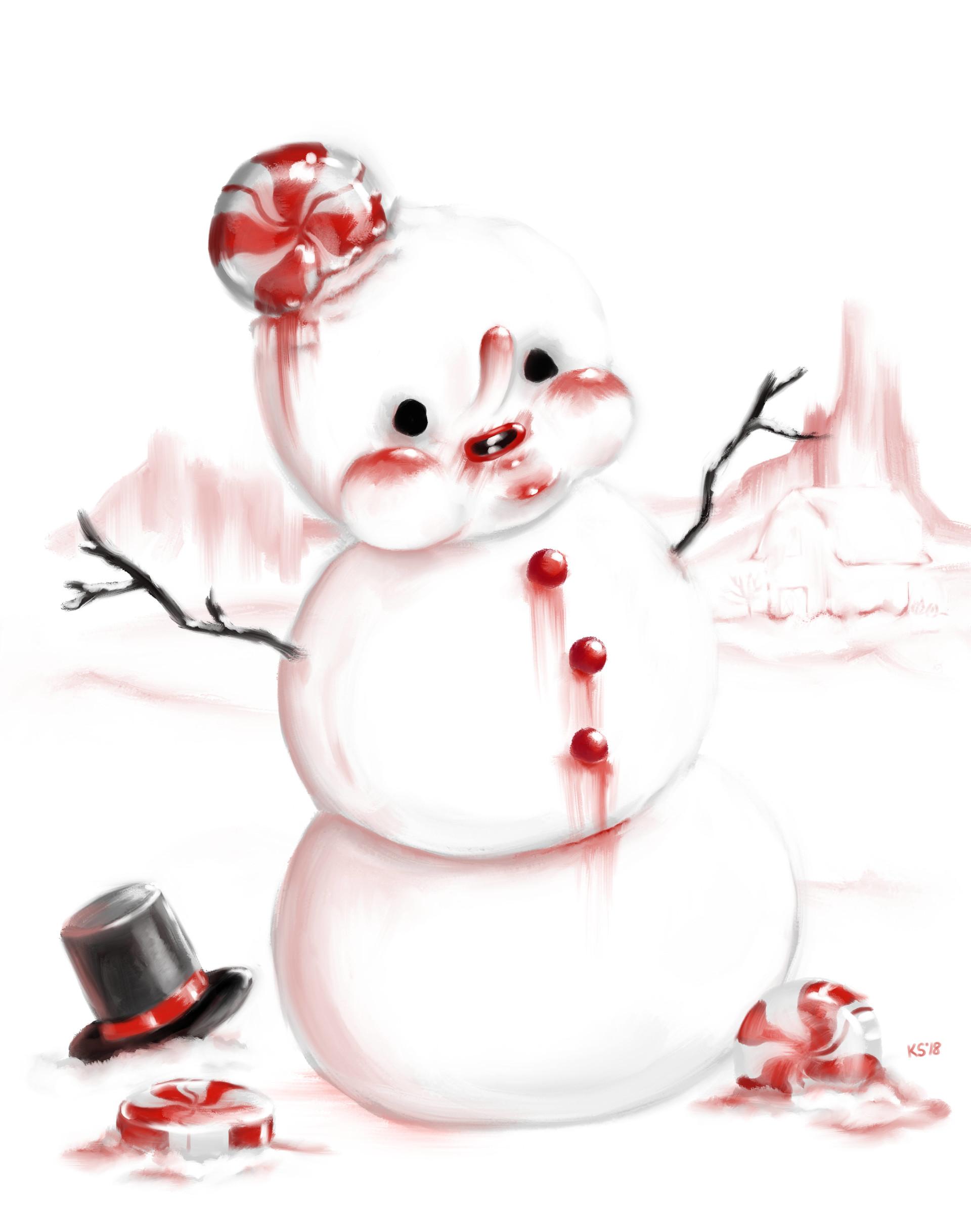 Strangest candy snowmanprefer