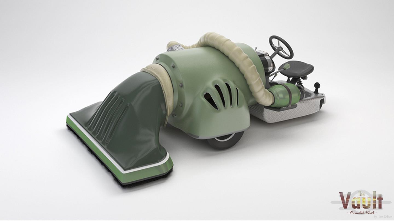 Street Cleaner 3D Model