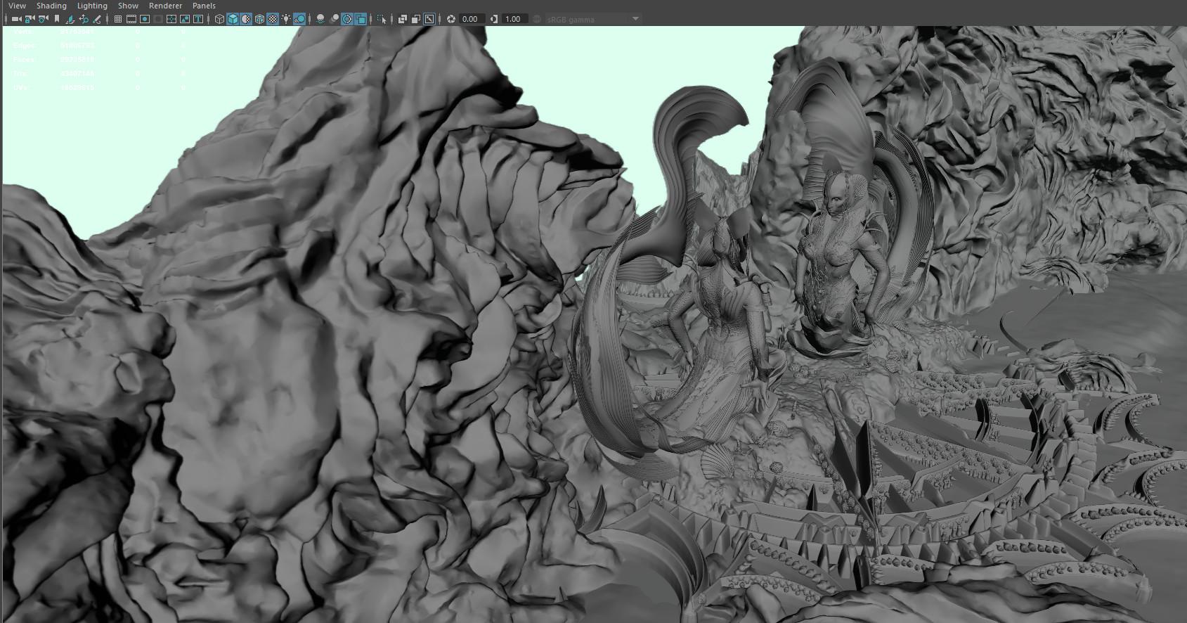 Mermaid gate Maya screengrab