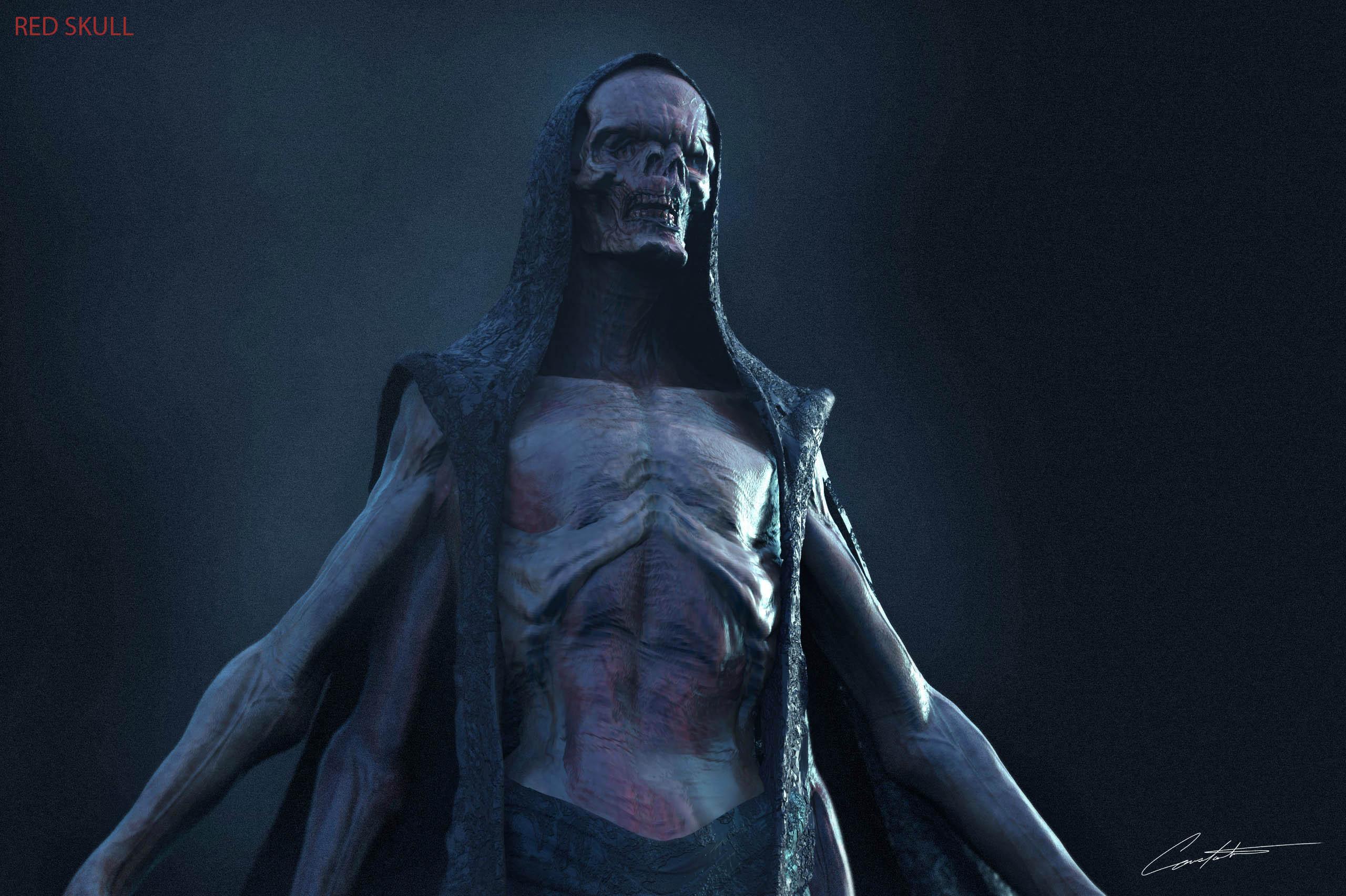 """Avengers Infinity War 'Red Skull"""" exploration design"""