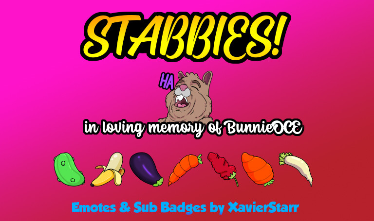 Twitch Emotes - Stabbies