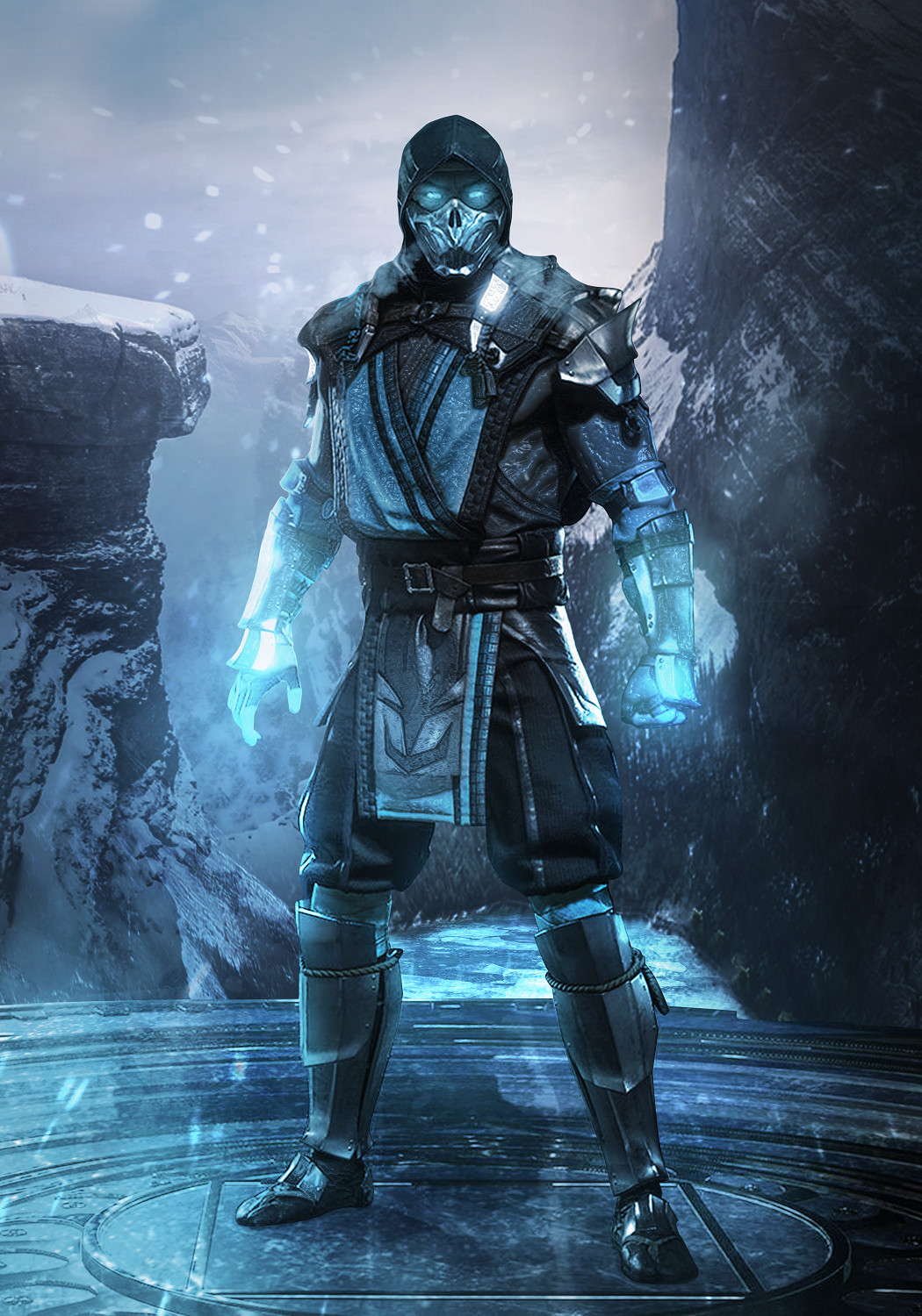 Artstation Mortal Kombat 11 Ice And Fire Mizuri Au
