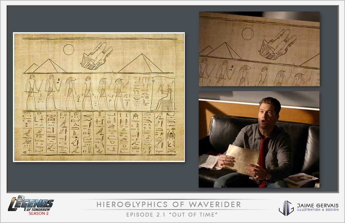Jaime gervais jaime gervais legends2 hieroglyphcs 1
