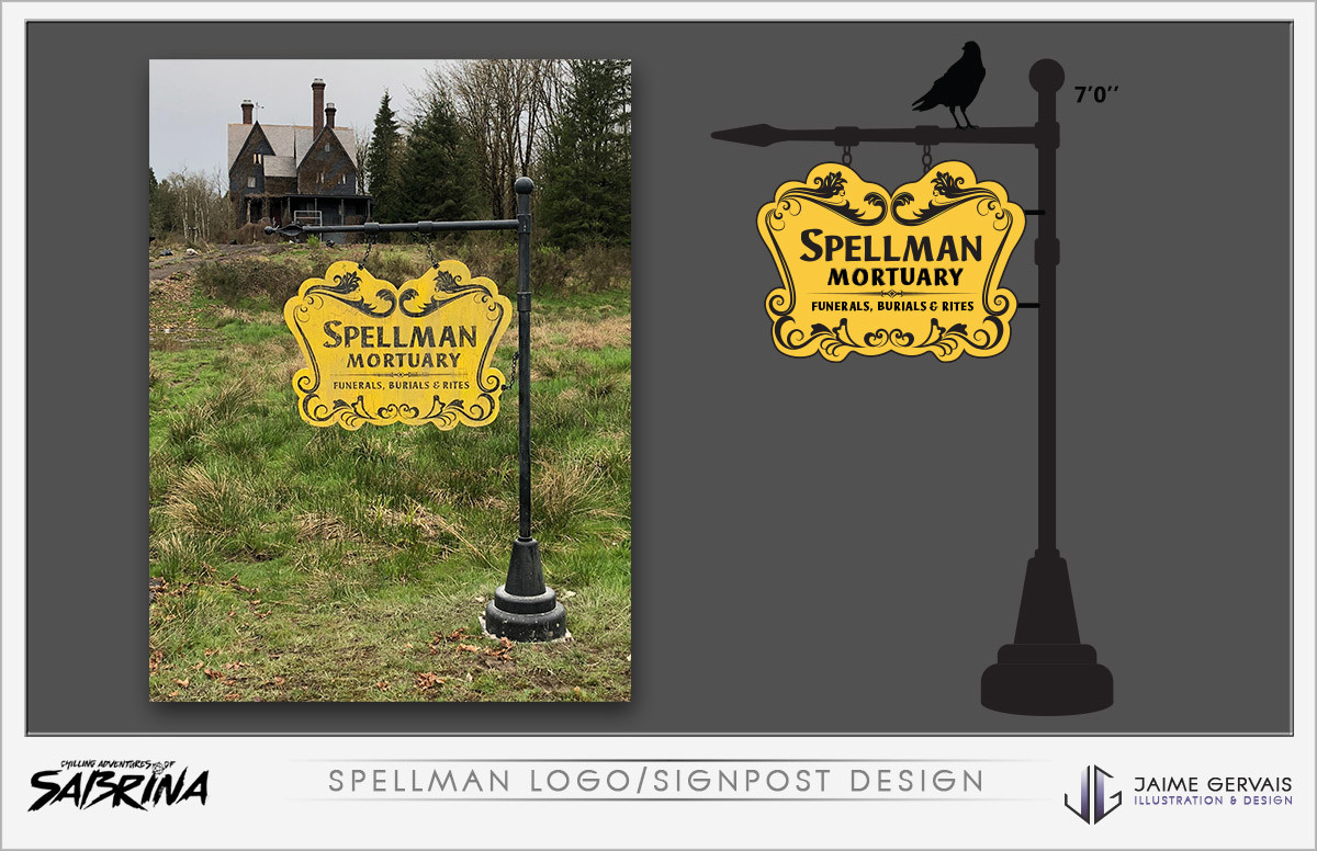 Jaime gervais spellman sign post design