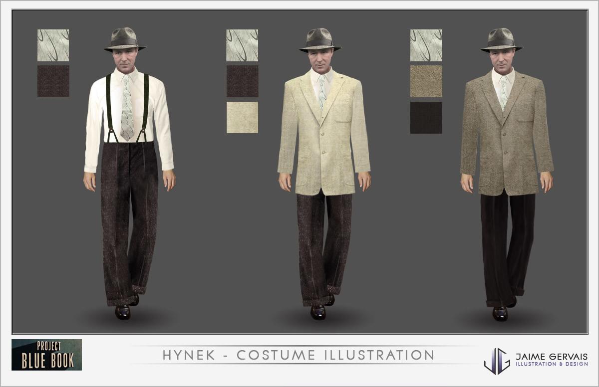 Jaime gervais hynek costumedesign