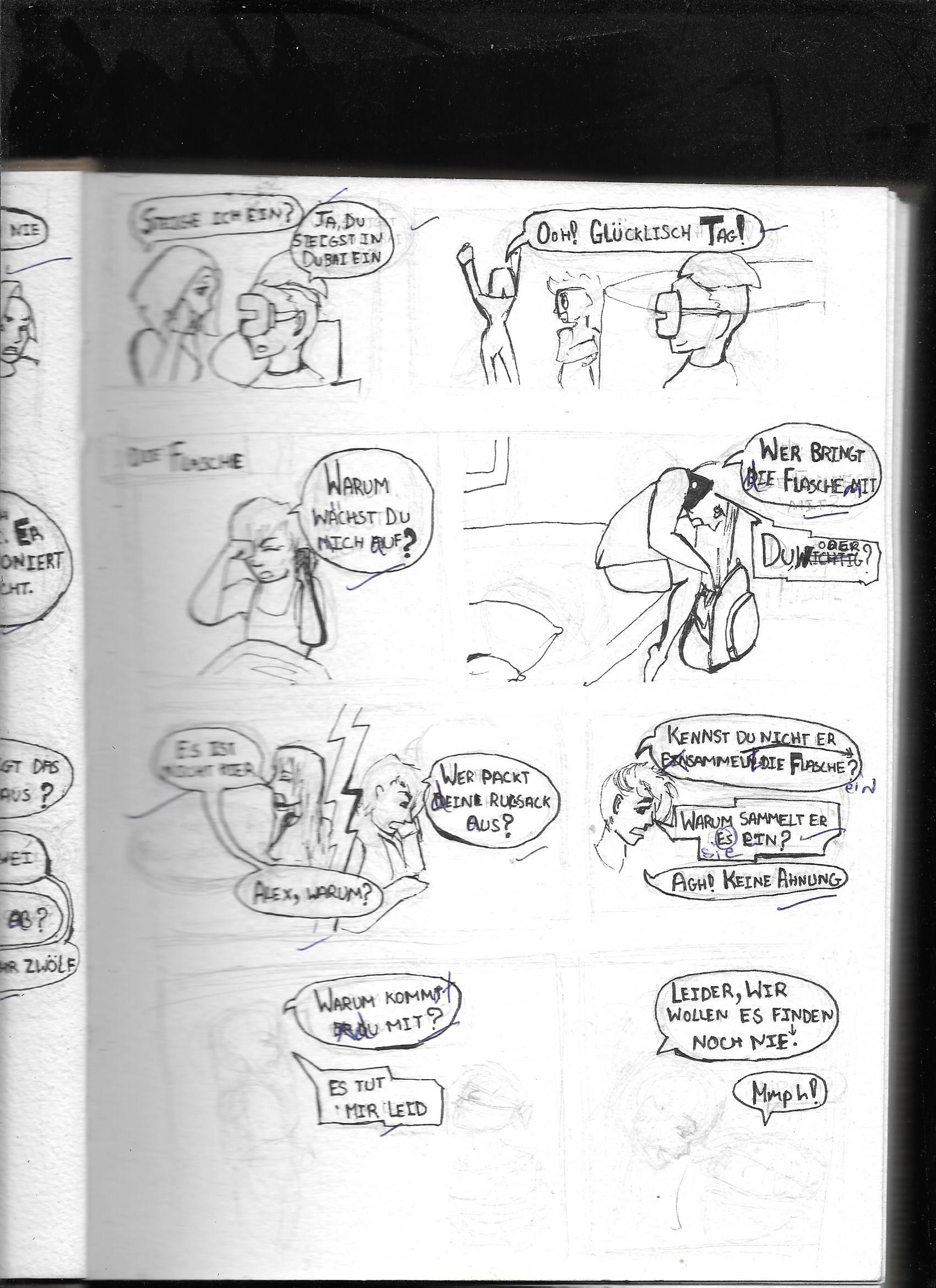 Vismaya menon german comic 007