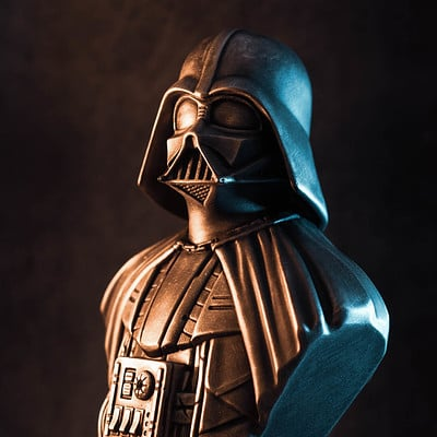 David ostman darth vader bust 2