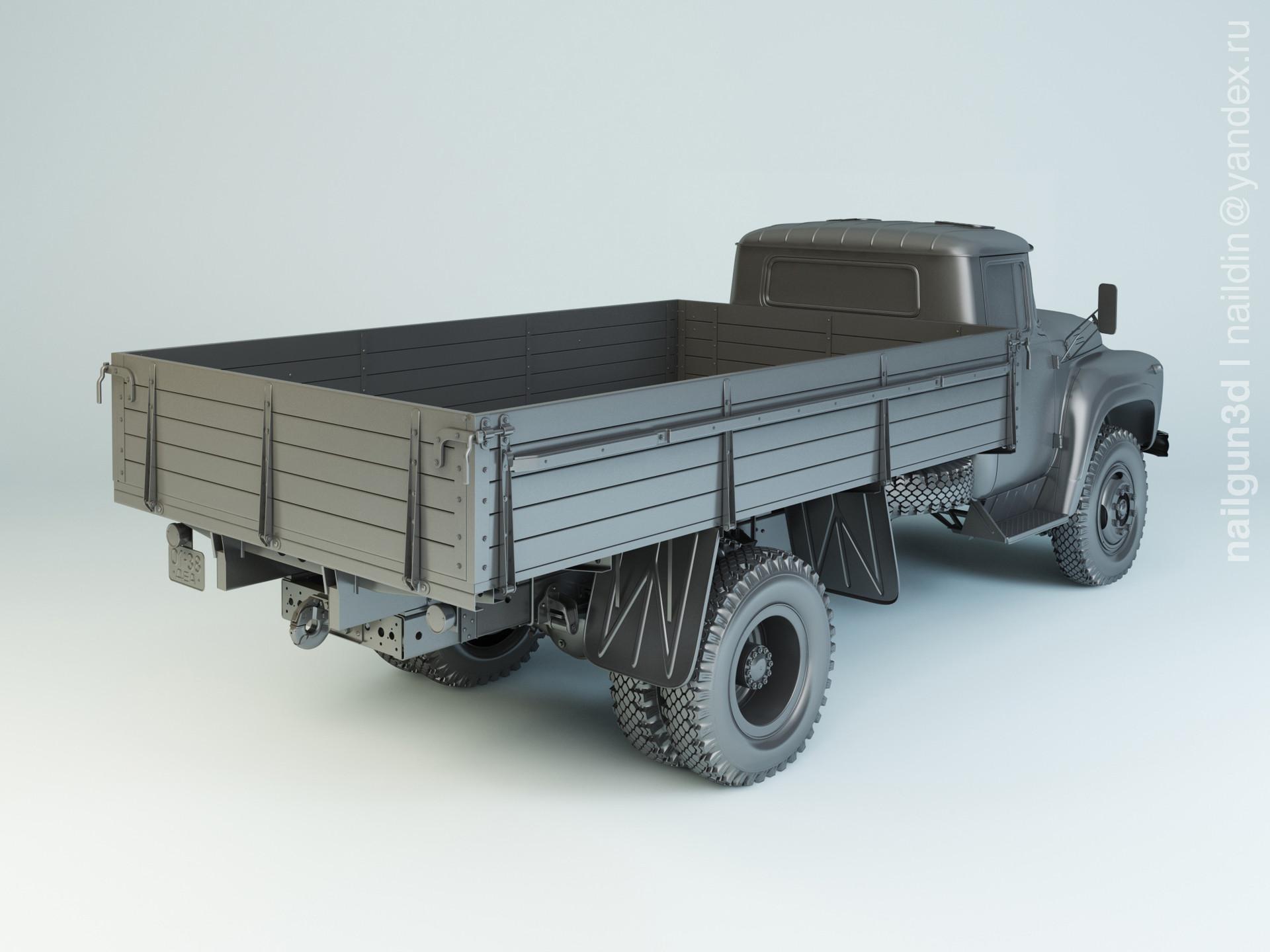 Nail khusnutdinov alg 039 000 zil 138 modelling 1