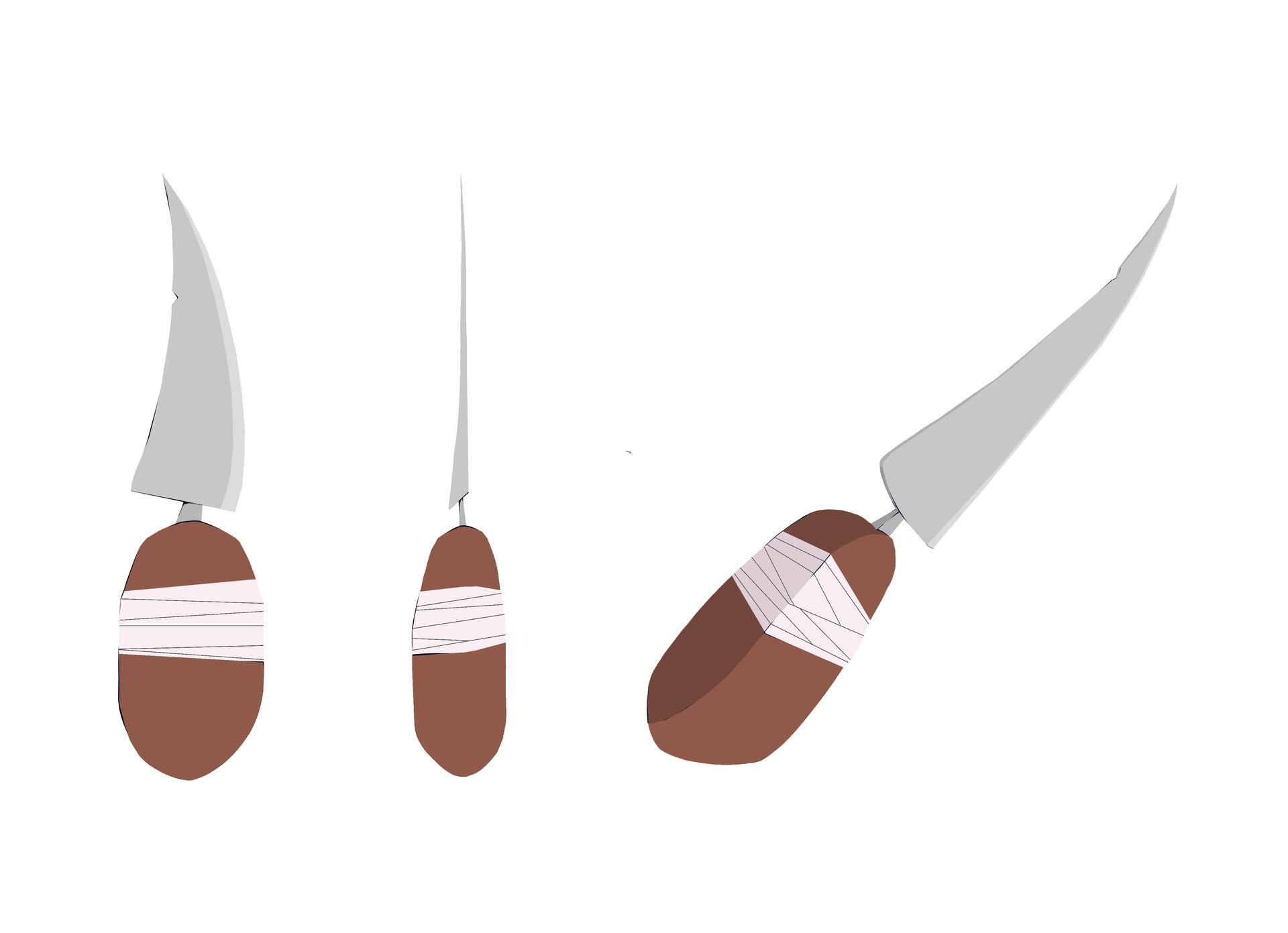 Prop - Nanu's knife (process)