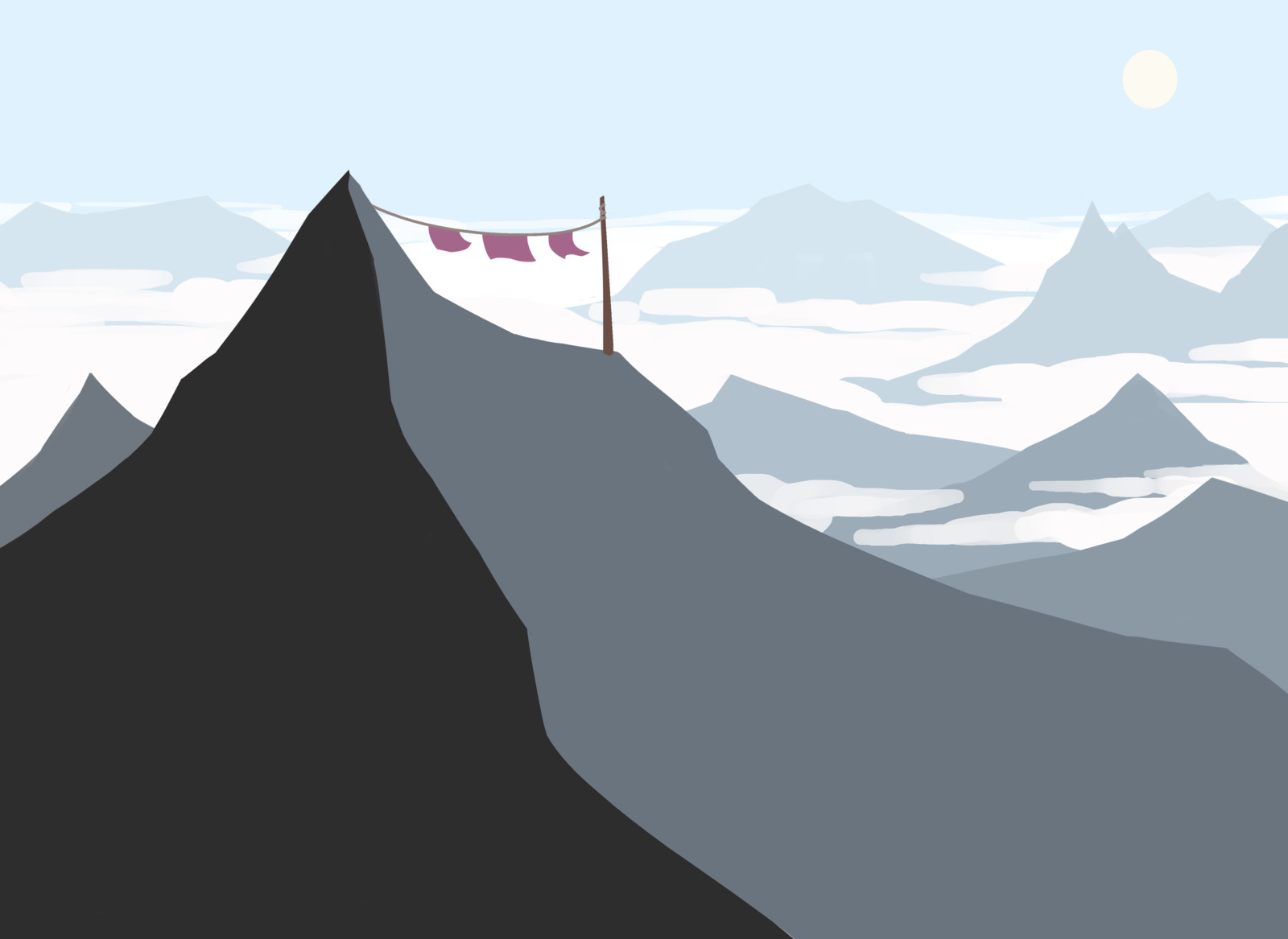 Mountain Peak (process)