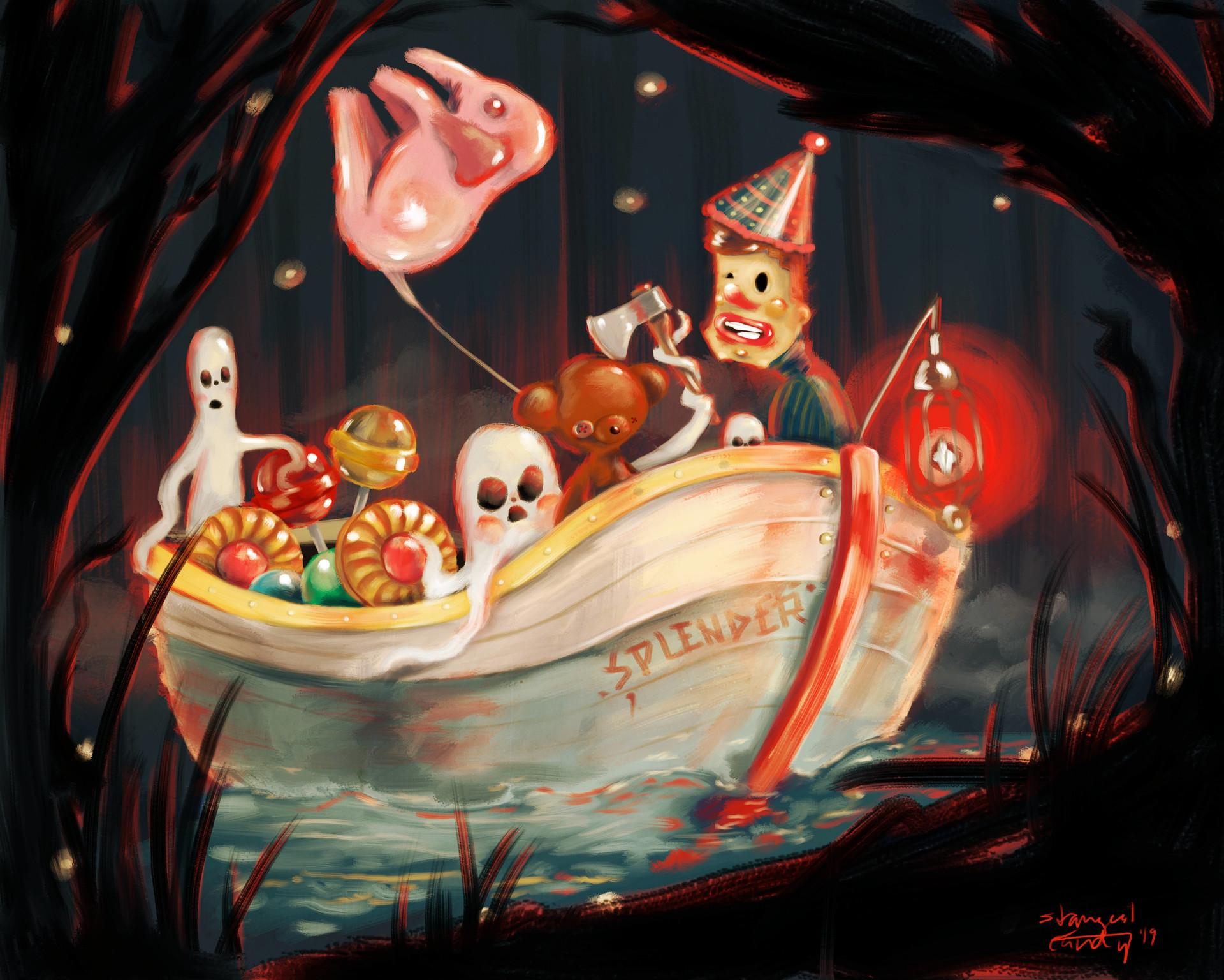 Strangest candy splenderandcolours