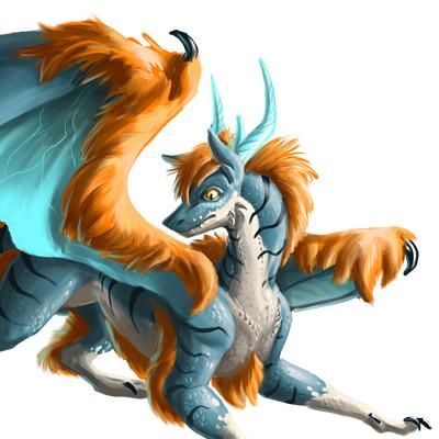 Megan heartfield dragon comrender