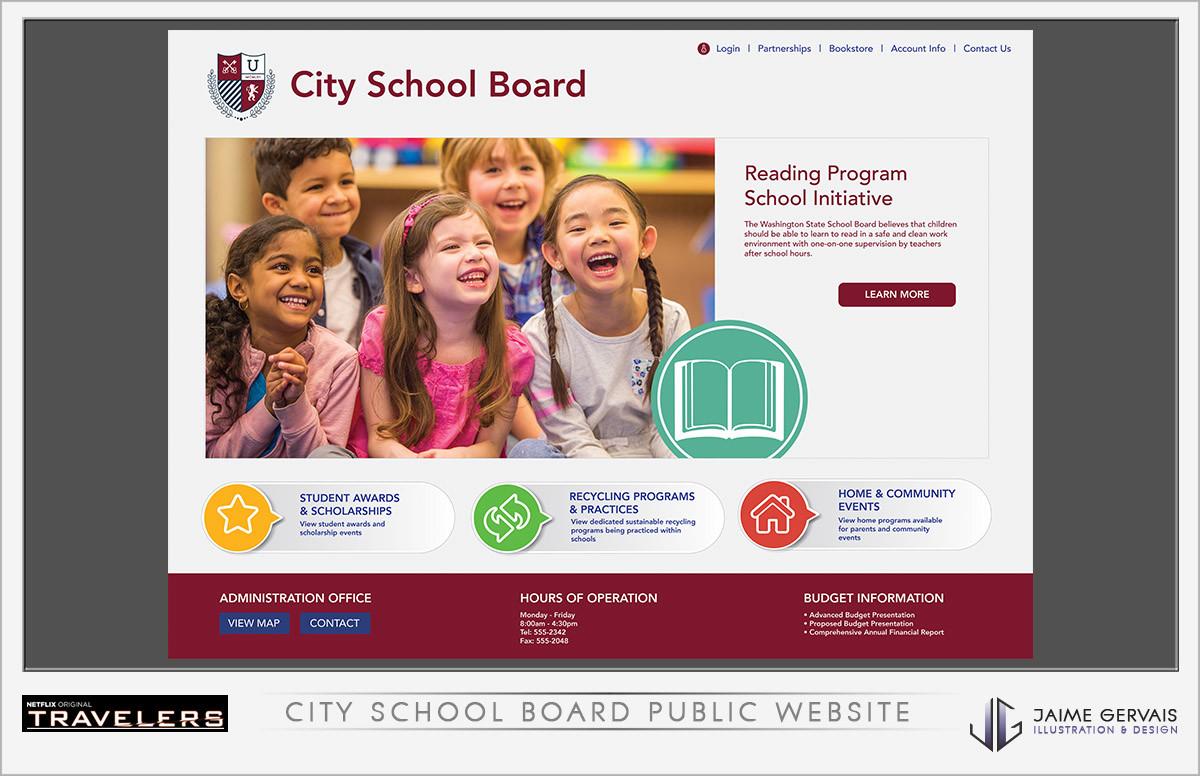 Jaime gervais cityschoolboardwebsite