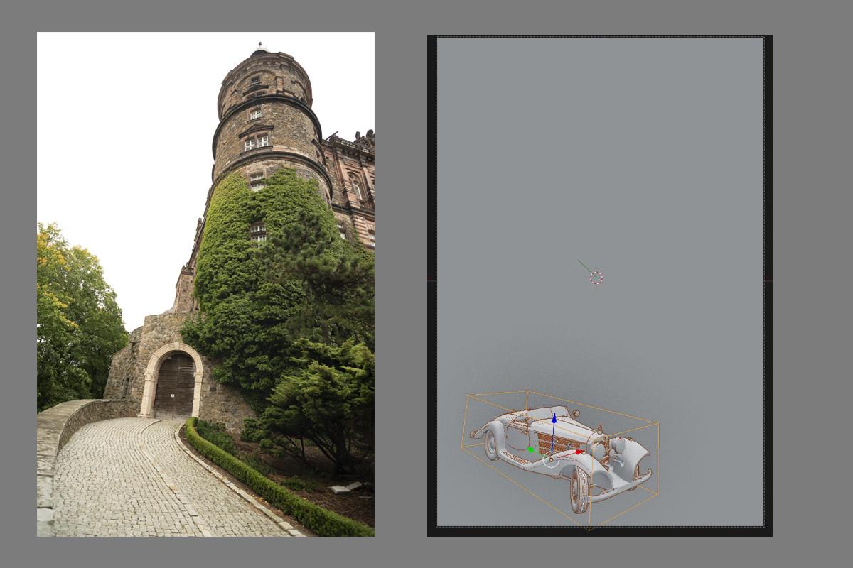 Anton golubov 3d castle