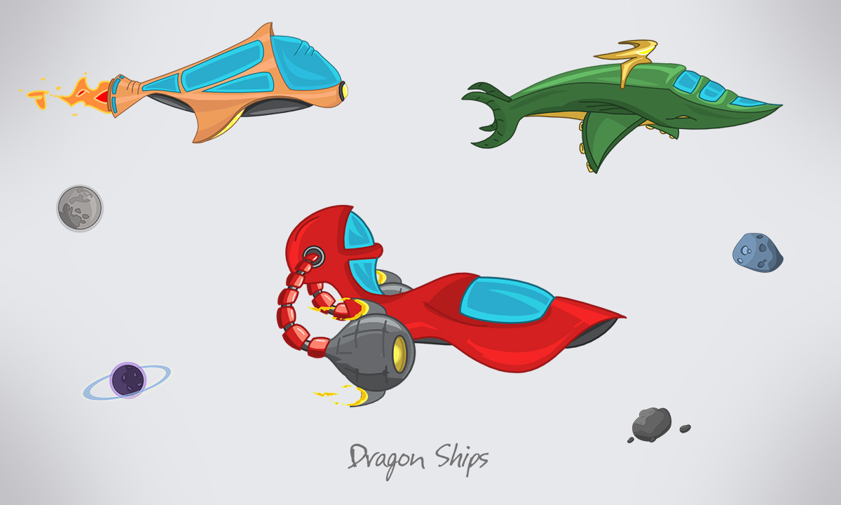 Spaceships concept