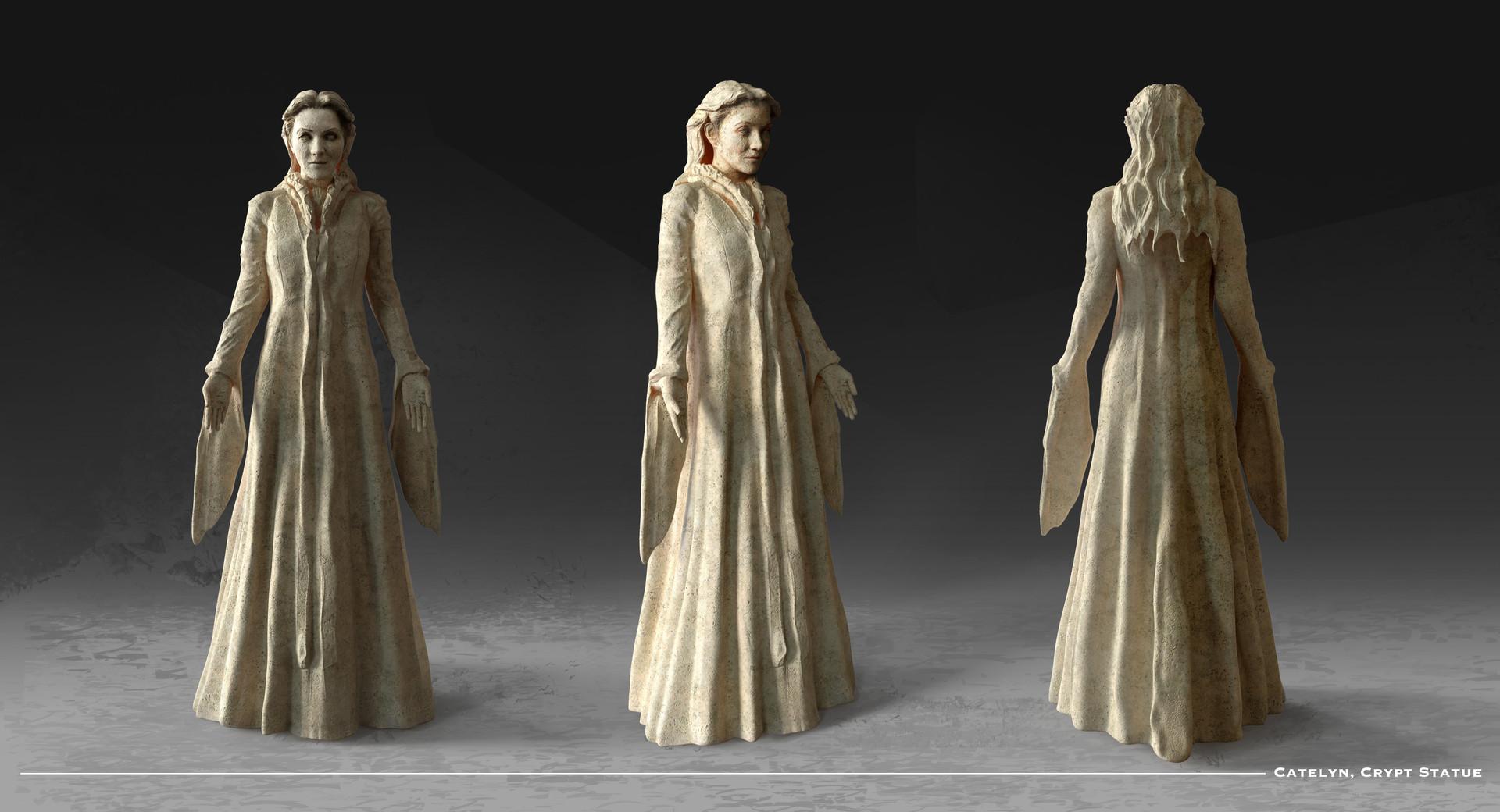 Kieran belshaw catelyn statue v002