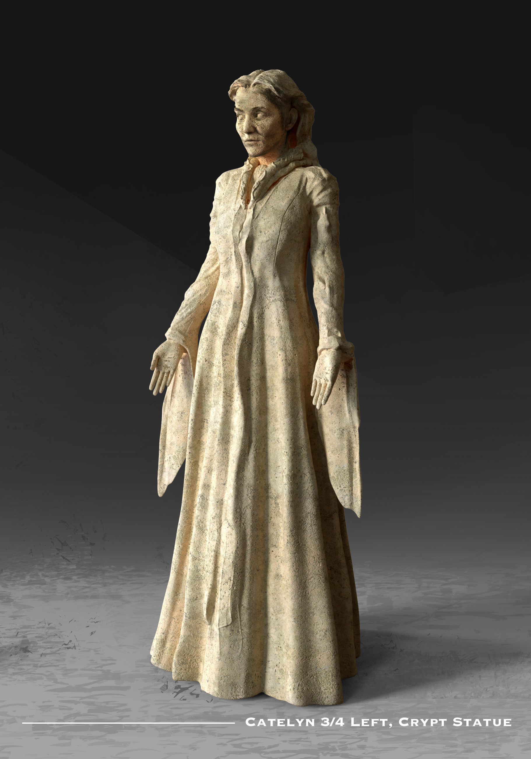 Kieran belshaw catelyn statue 3quarterleft v002