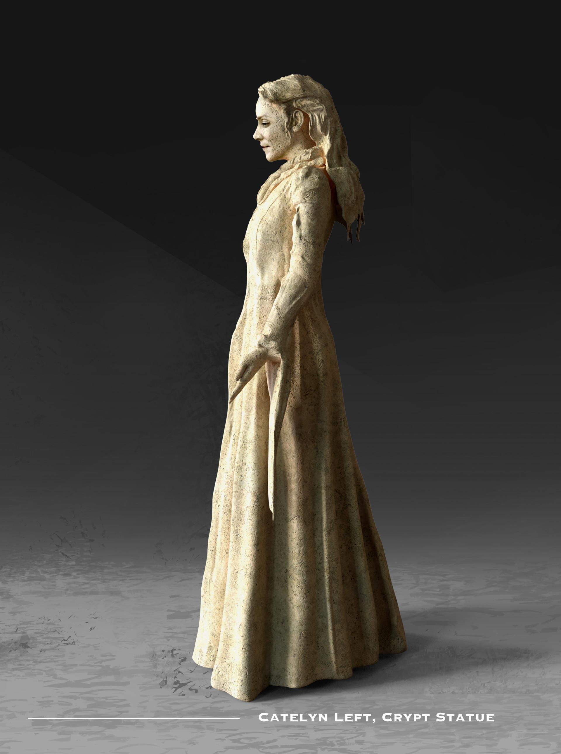 Kieran belshaw catelyn statue left v002