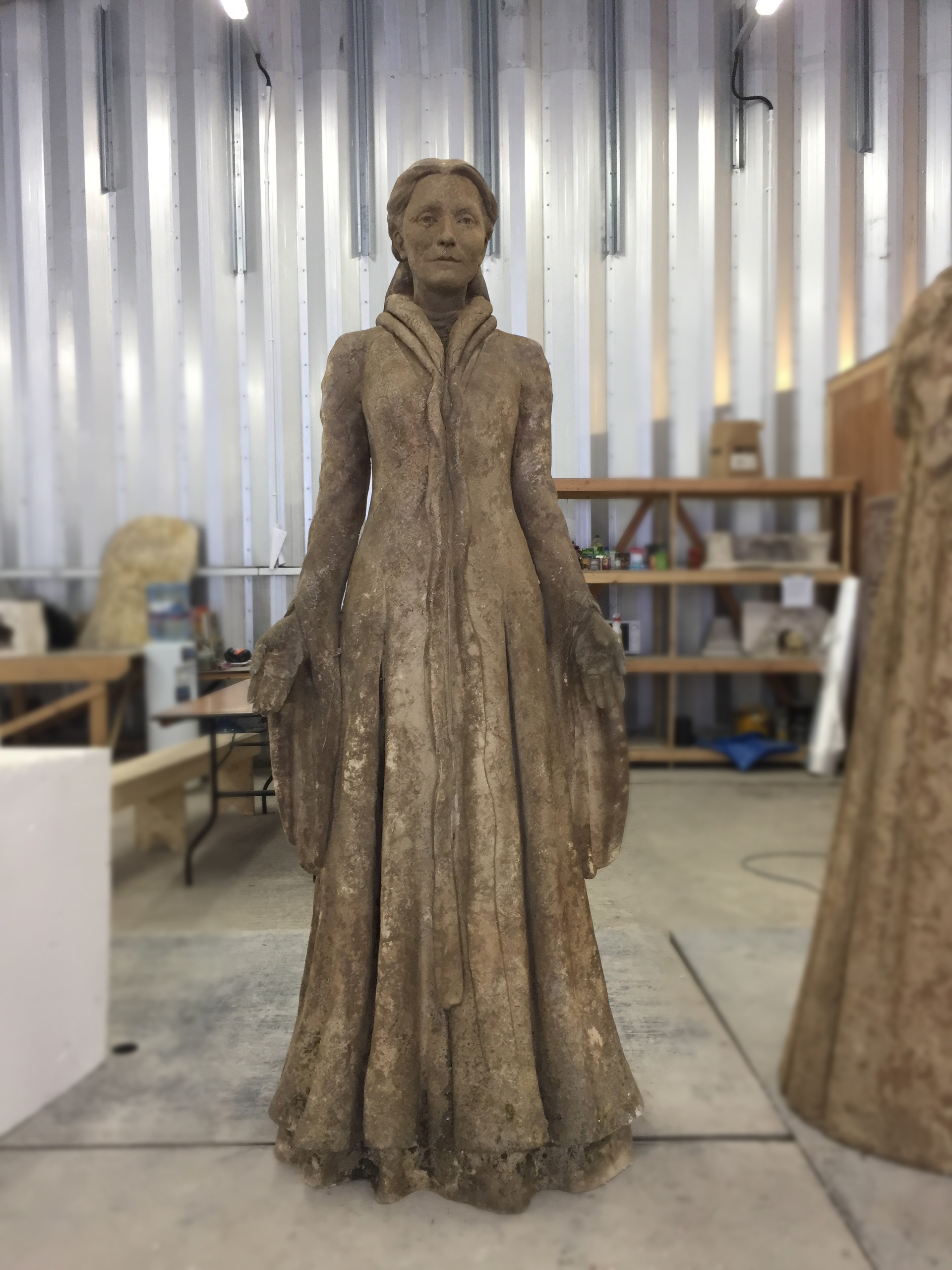 Catelyn Statue by Darren and the sculpting team. Original done in clay