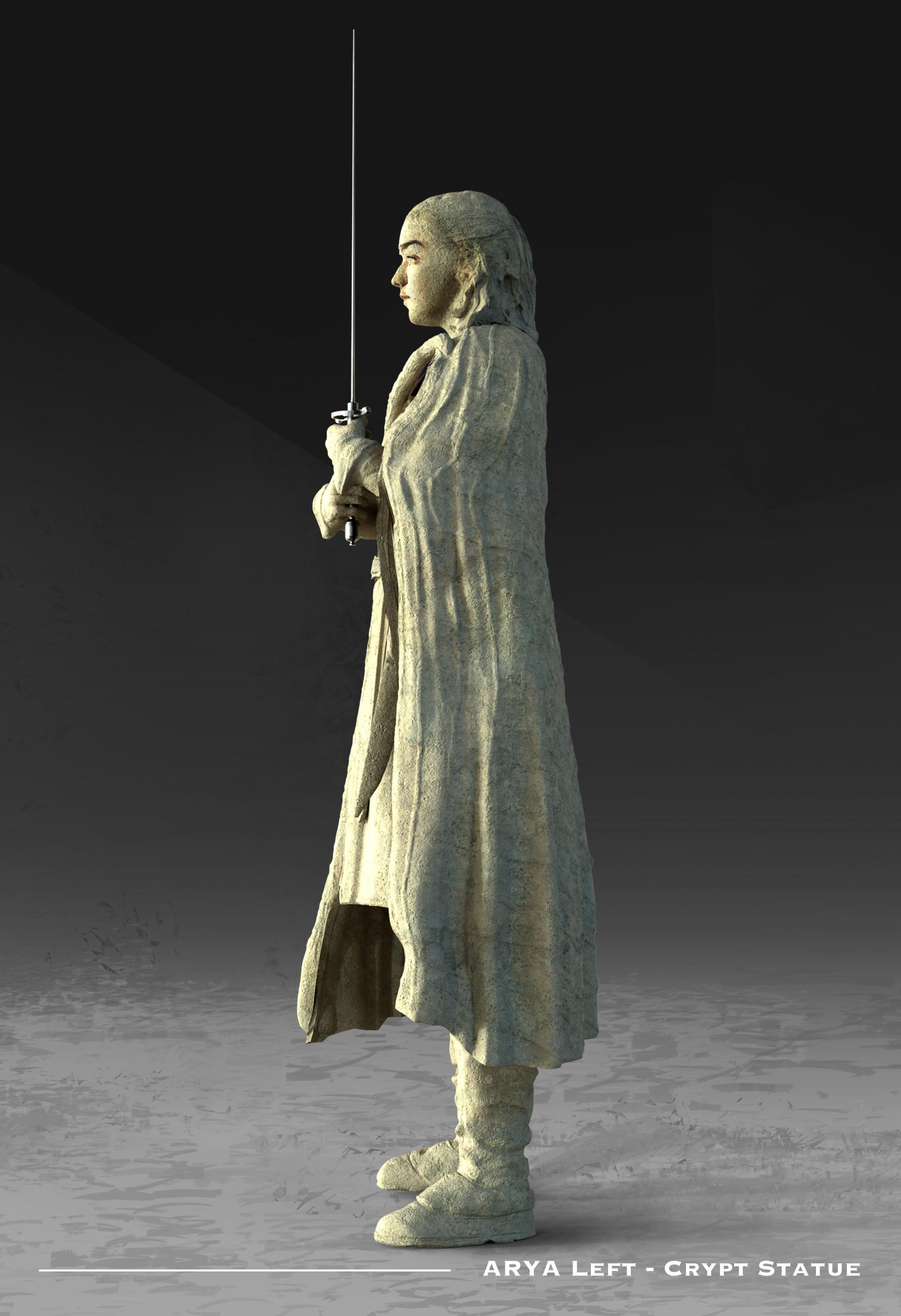 Kieran belshaw arya statue sideleft v002