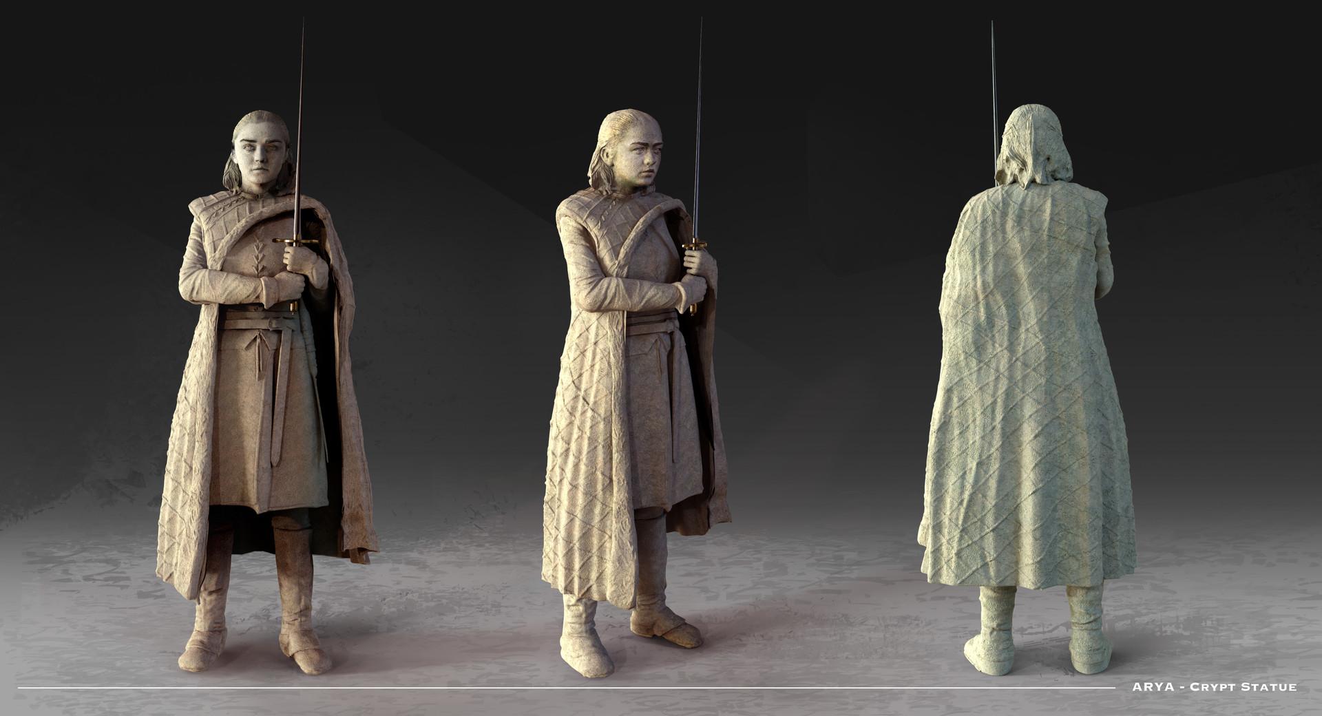 Kieran belshaw arya statue v002