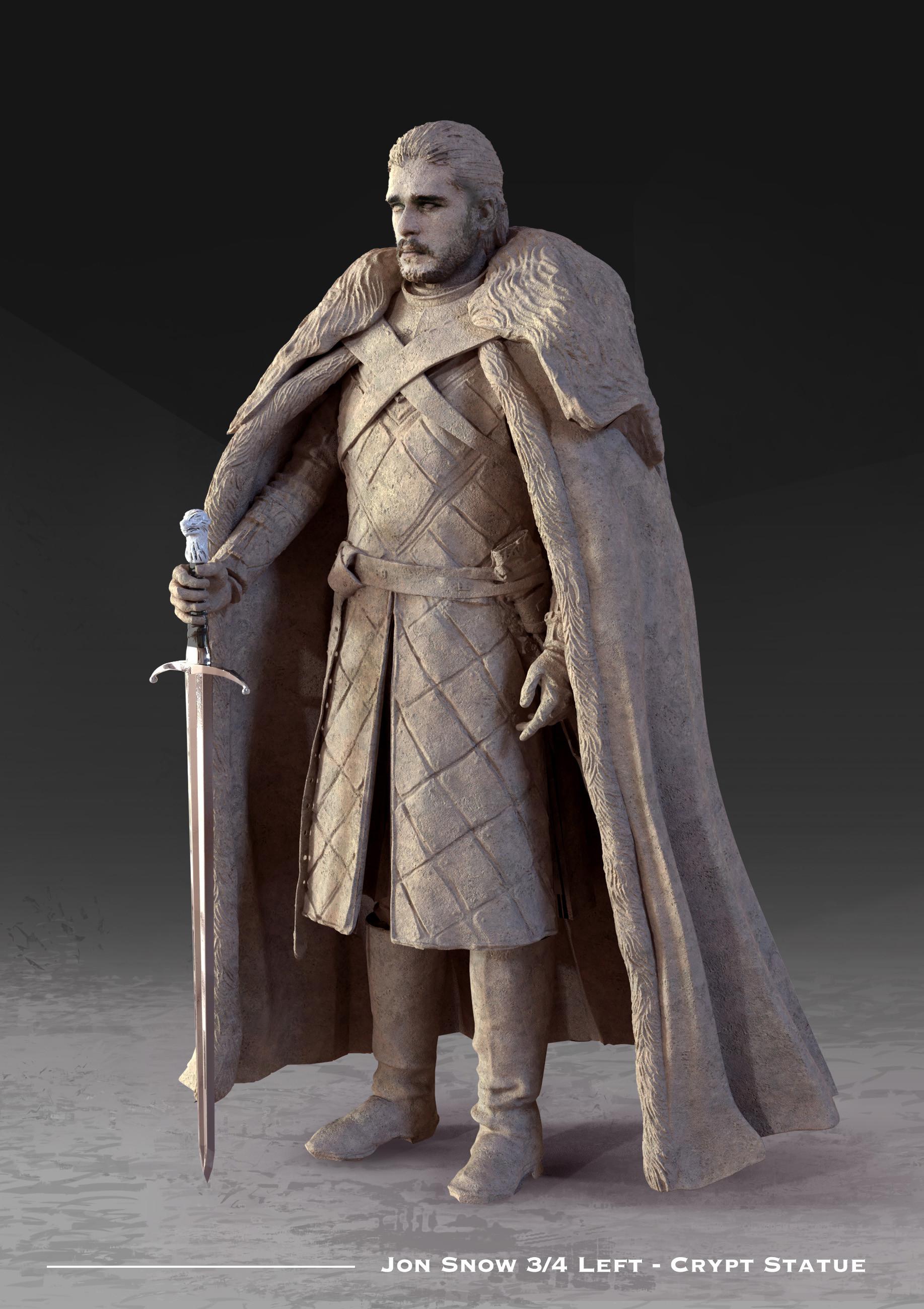 Kieran belshaw jon statue 3quarterleft v001