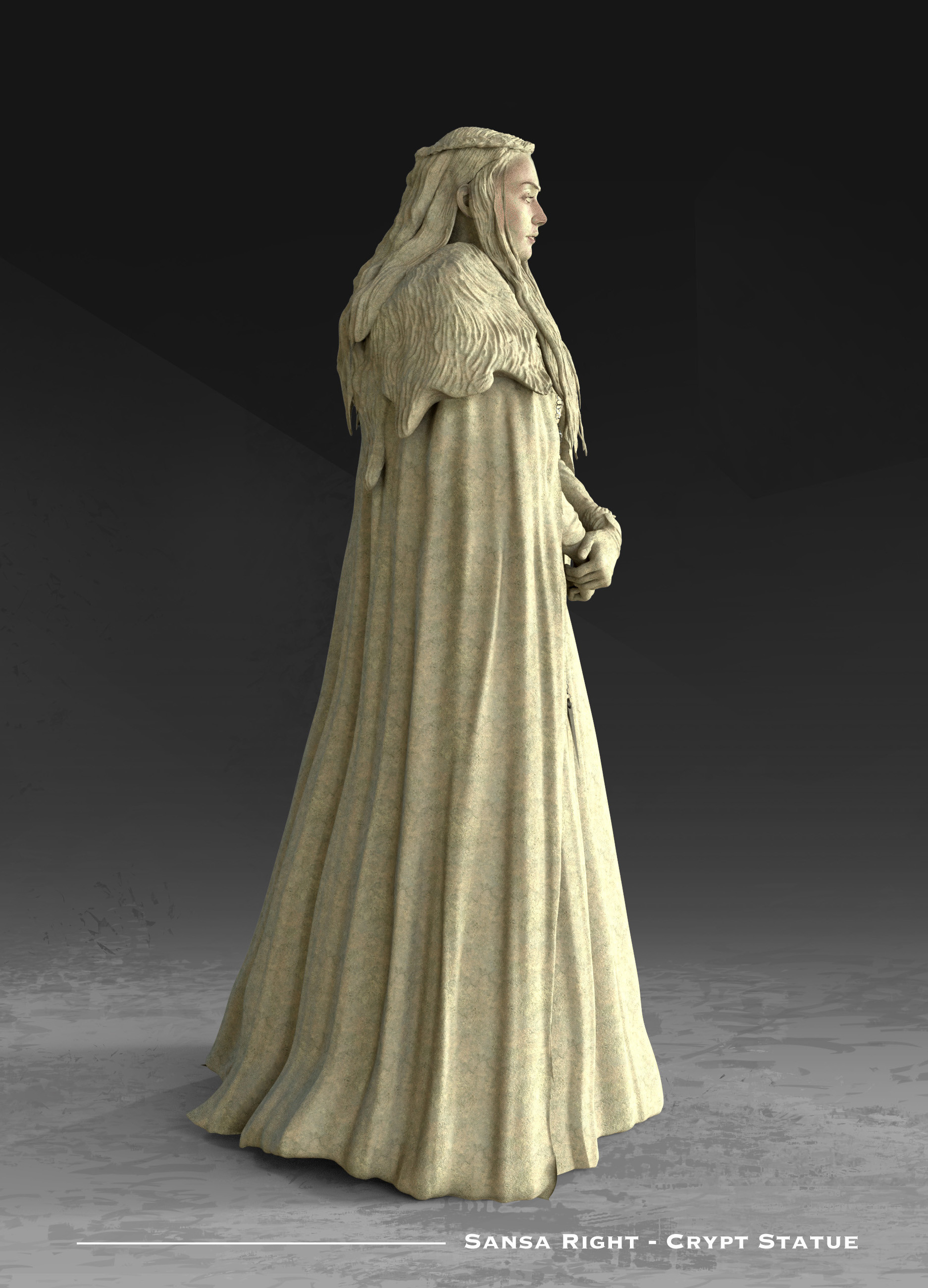 Kieran belshaw sansa statue right v001