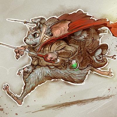 CDC Mice Warrior