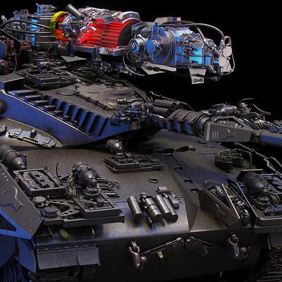 Ying te lien black tank