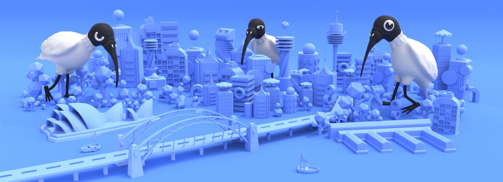 Seedy Ibis Birds Invade Sydney