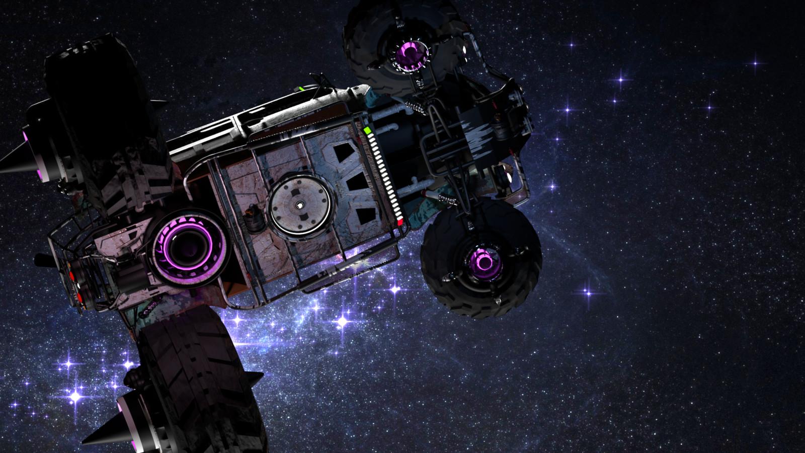 Baja Space Bug landing