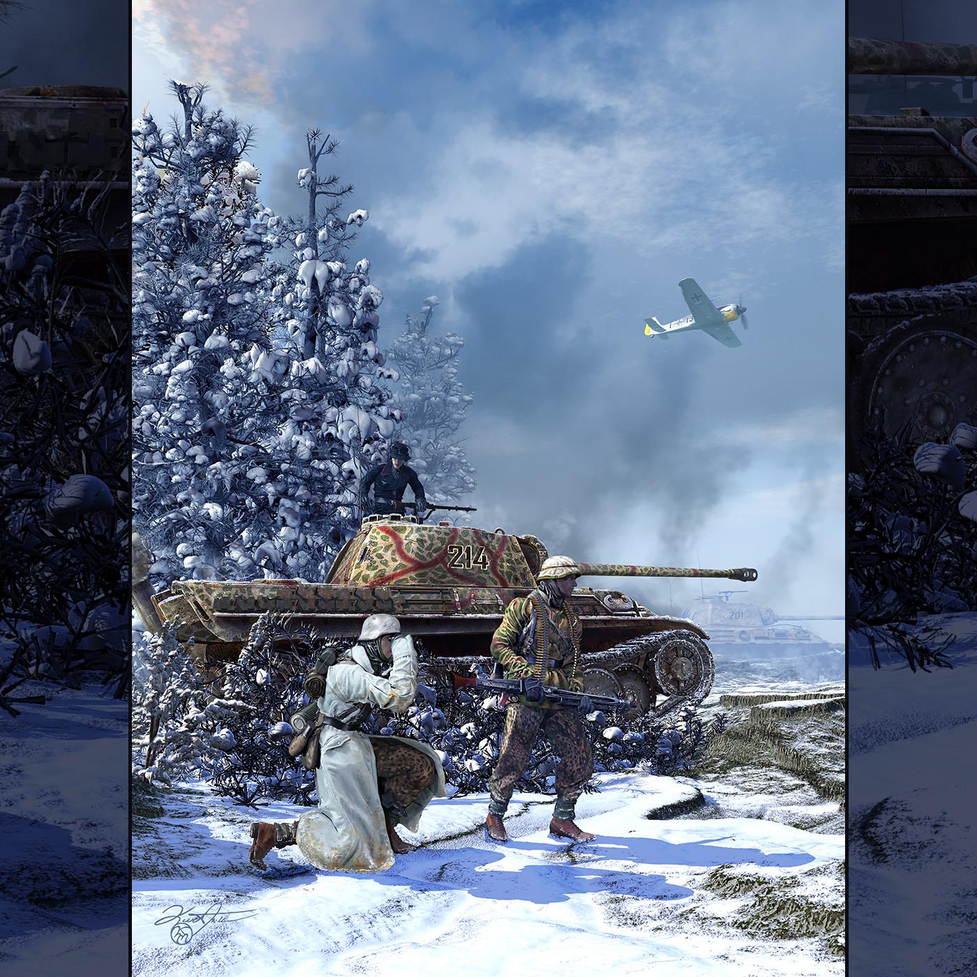 Battle of the Bulge. 1944