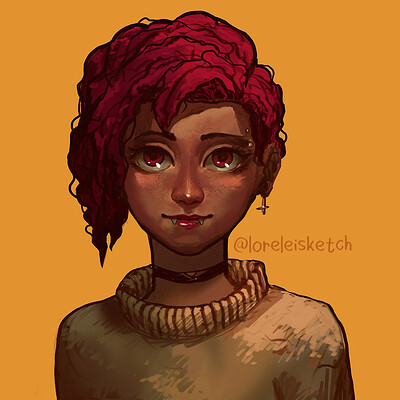 Lorelei si character180414 0420