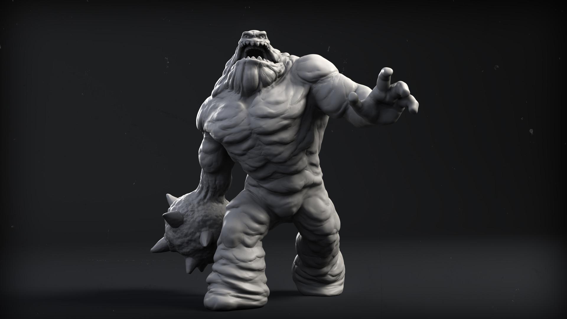 Knight Models-BATMAN Multiverso in Miniatura Gioco-Clayface