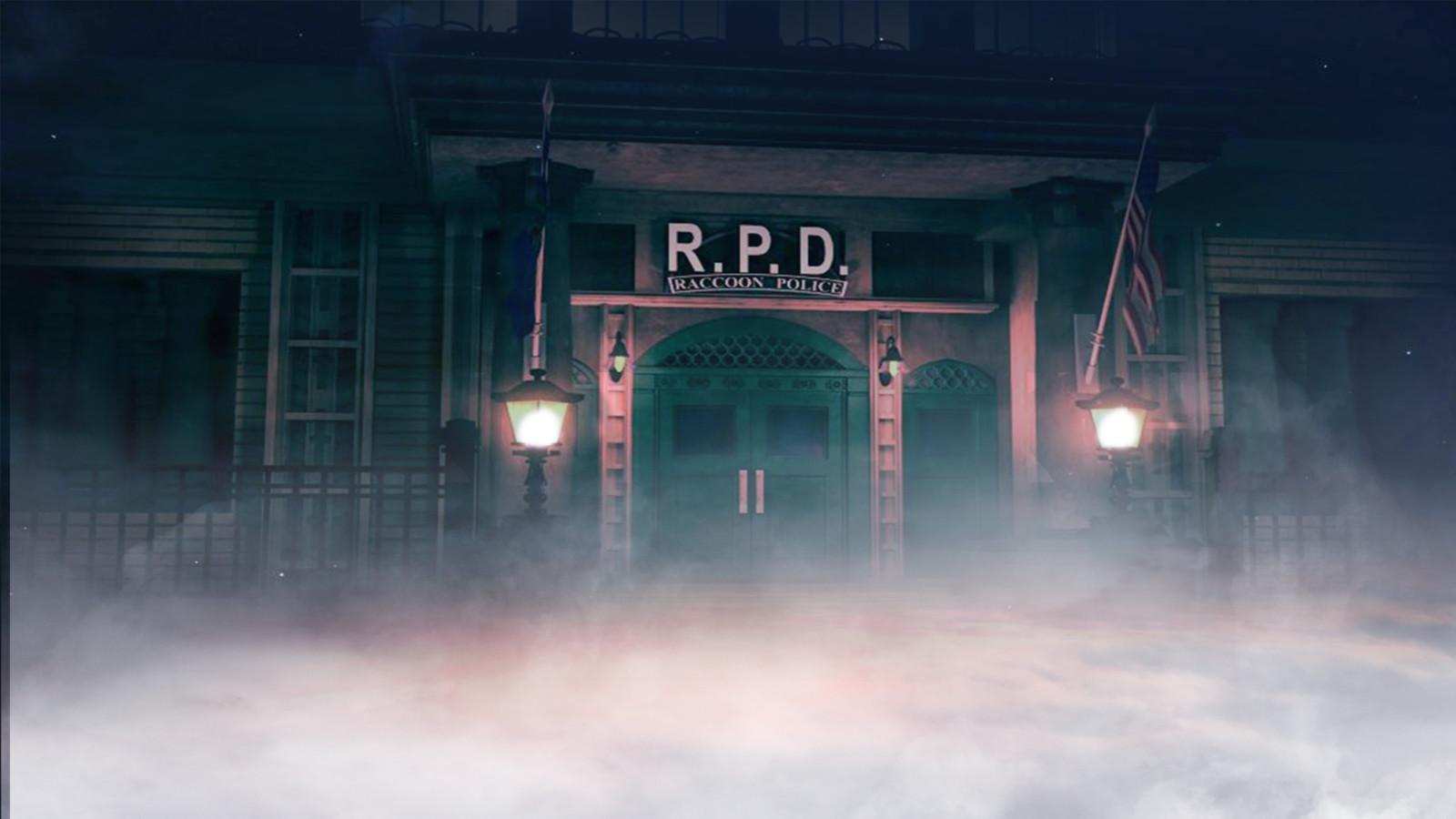 Artstation Resident Evil 2 Remake Wallpaper Background Jise Ramos