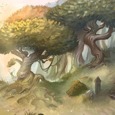 Lucy georgina orioental forest