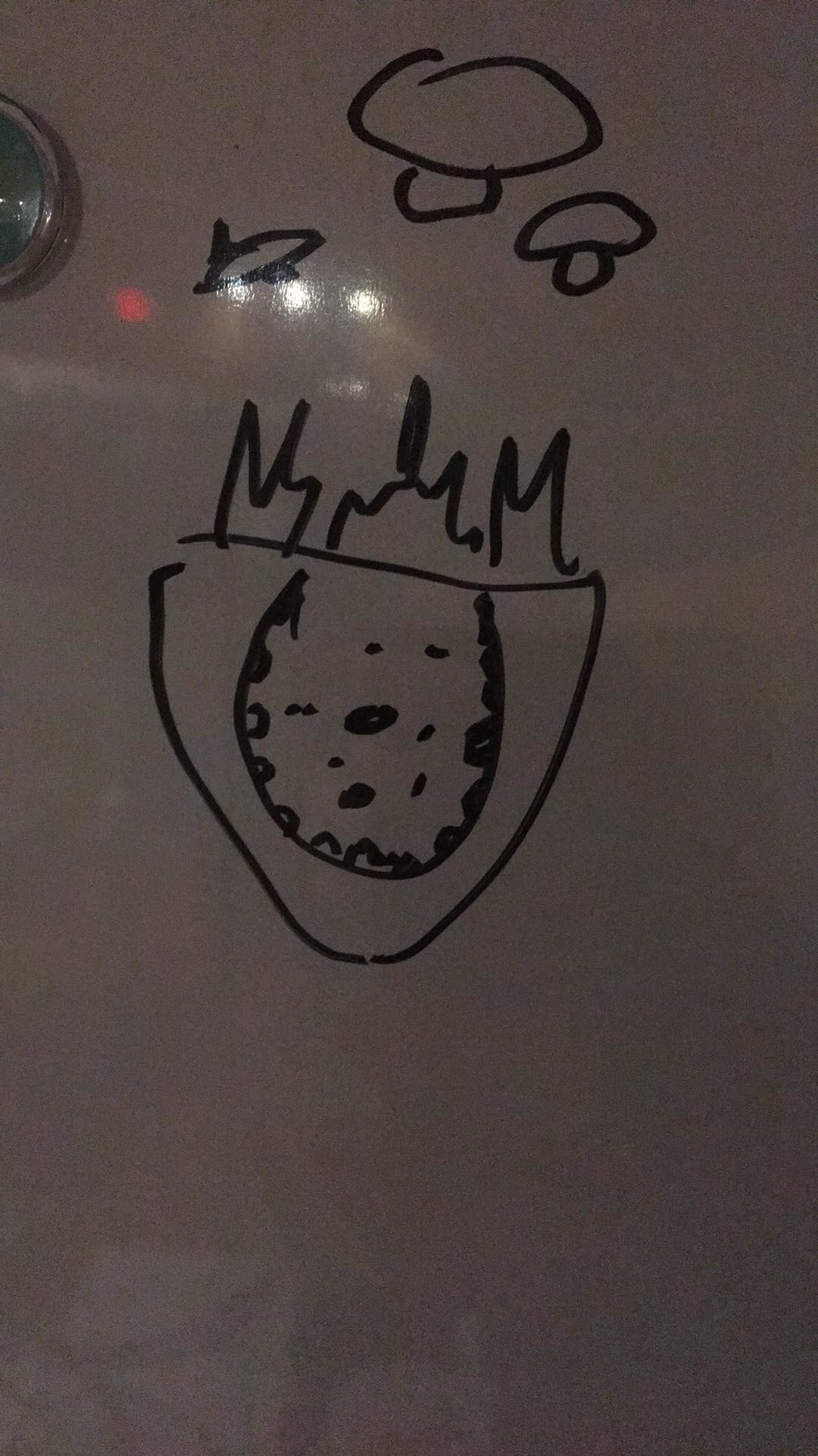 The initial doodle given to me by the designers!