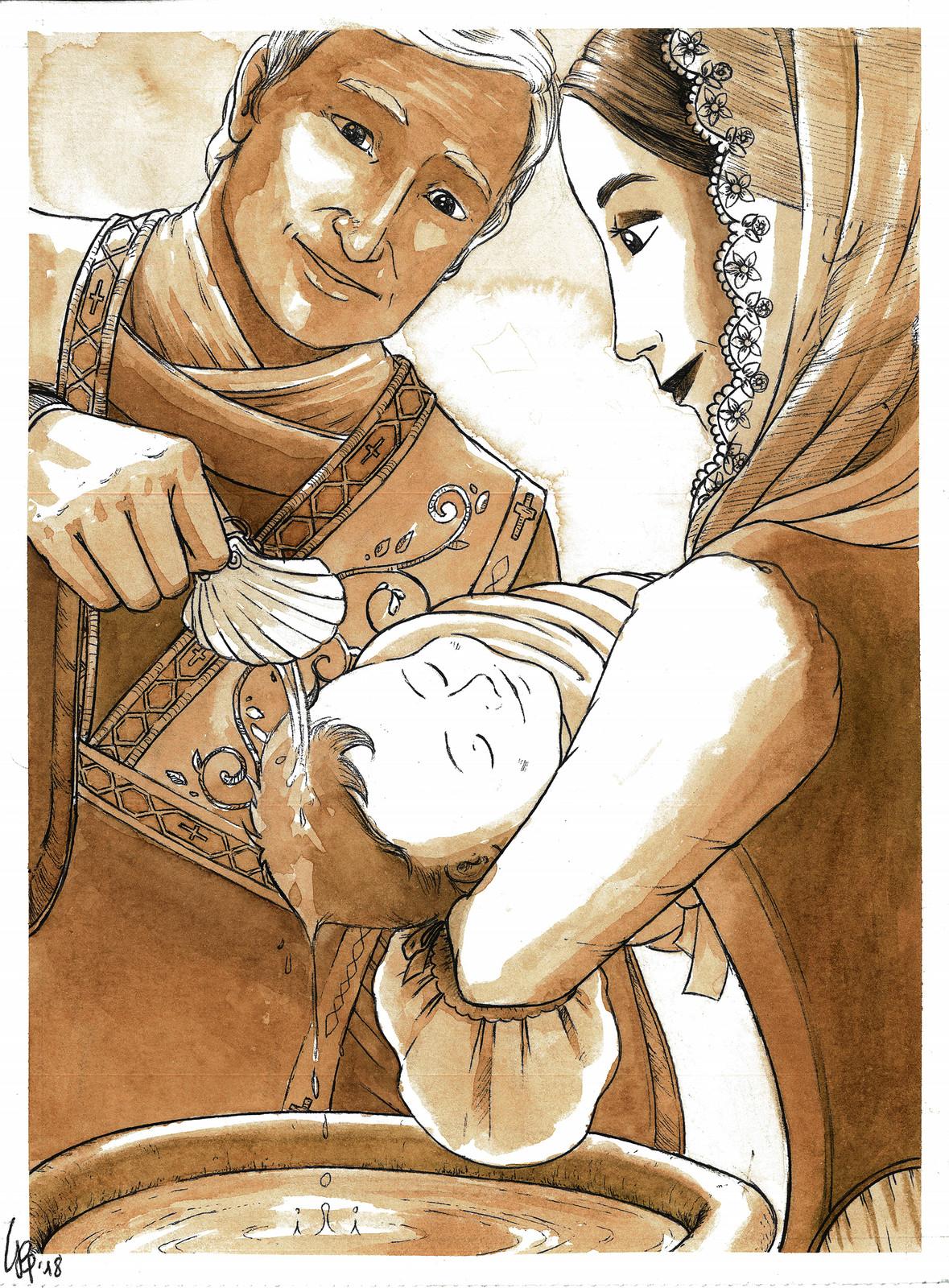 Il 26 Ottobre 1782, Niccolò Paganini viene battezzato nella chiesa di San Salvatore in Sarzano.