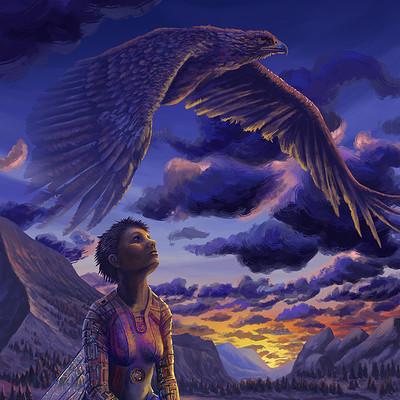 Jean buchet ef l aigle et la plume
