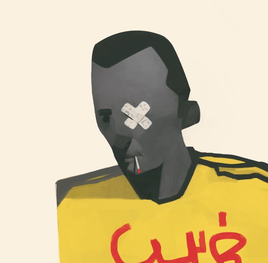Random sketches/yellow vest