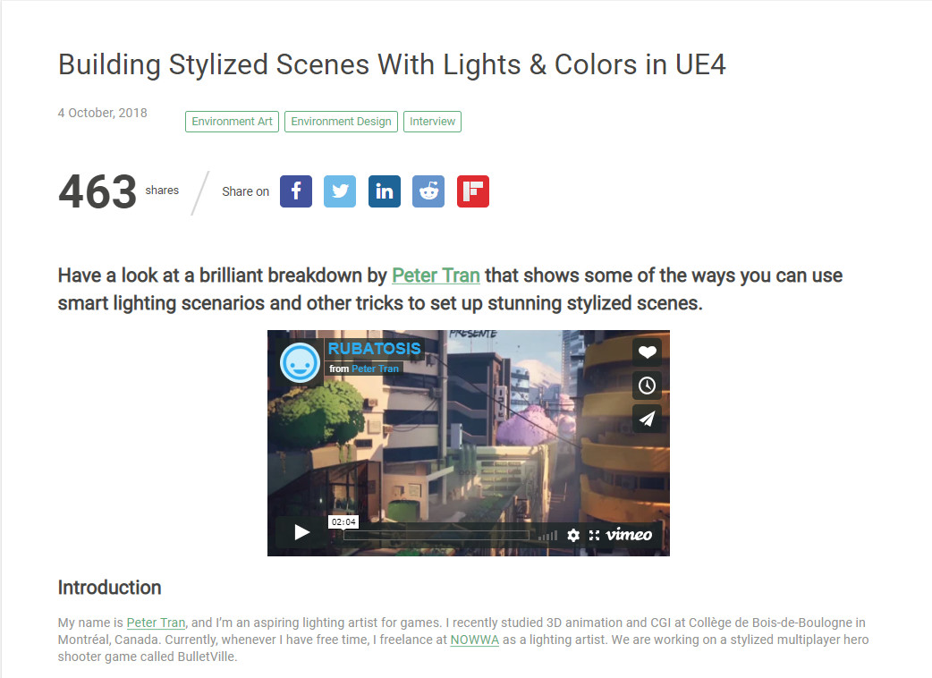 https://80.lv/articles/building-stylized-scenes-with-lights-colors-in-ue4/