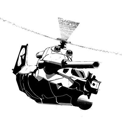 Clement mona concept helico tank c01