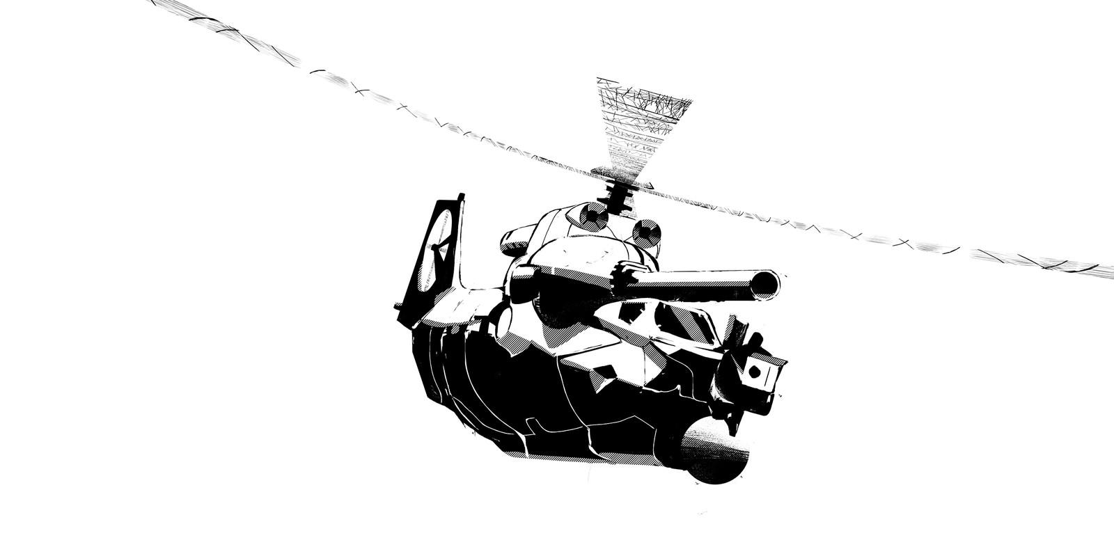 Helico-Tanks