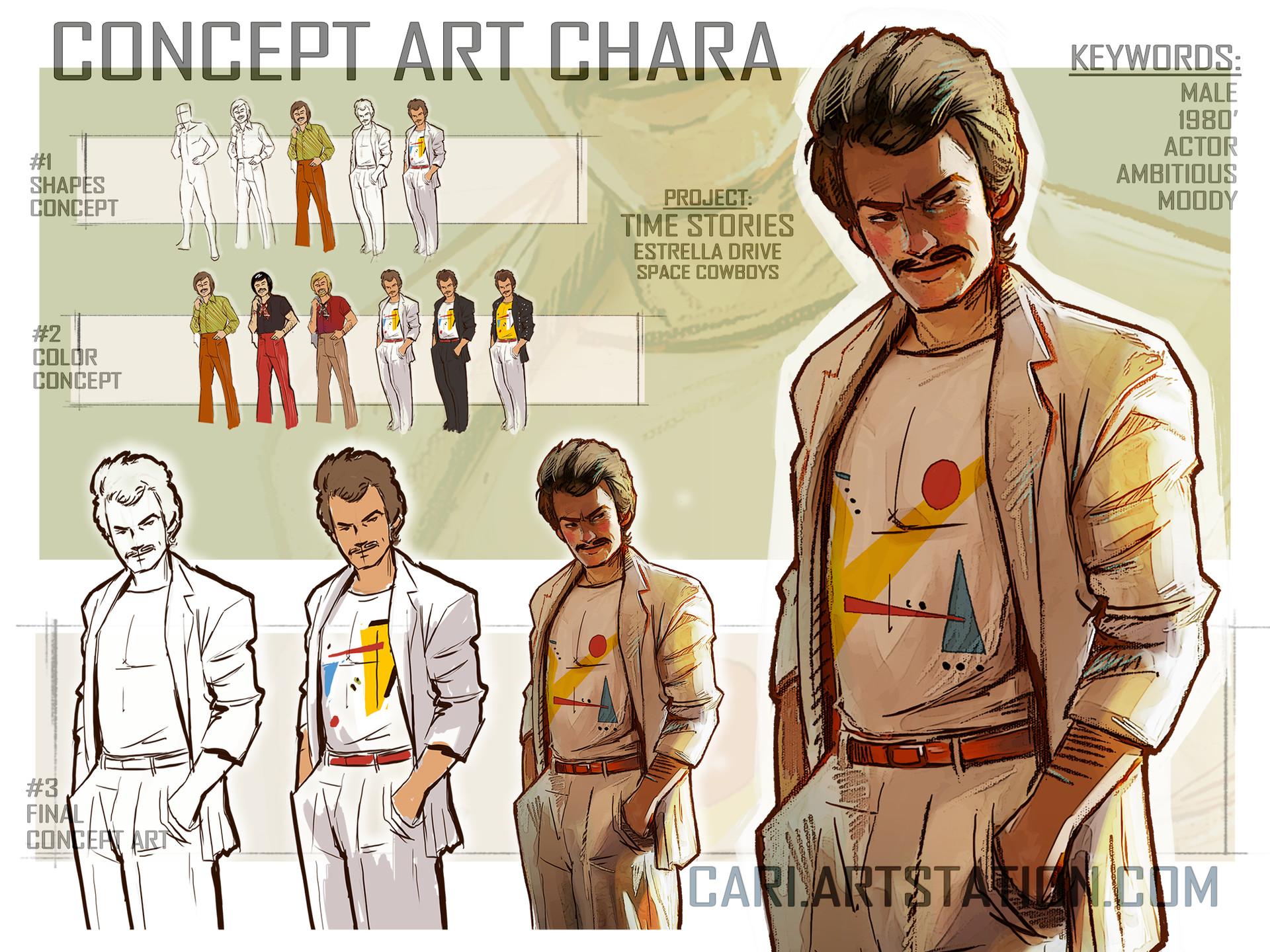 Cari art concept art davidcahan