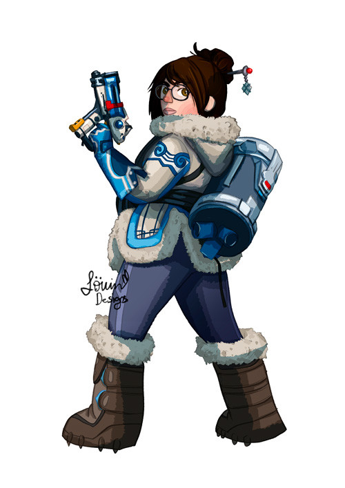 Lowin designs mei overwatch