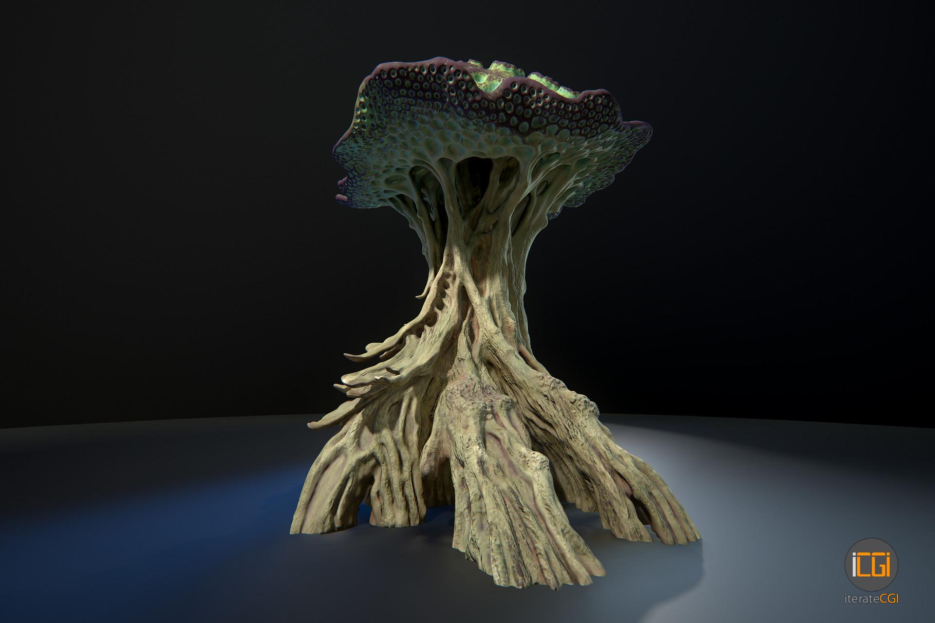Johan de leenheer alien plant mushroom type2 2